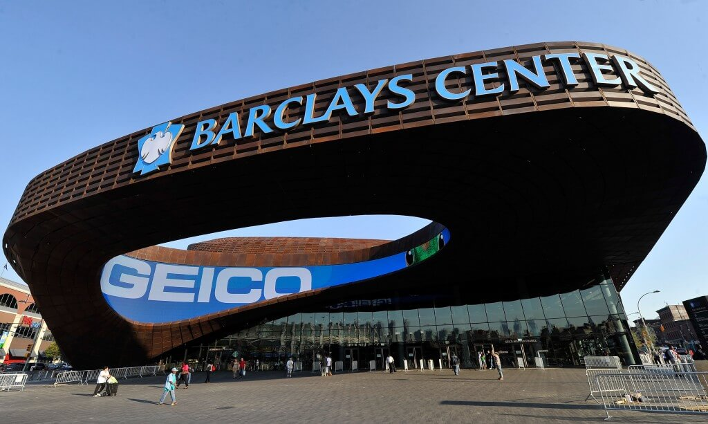 Exterior Views Of The Barclays Center