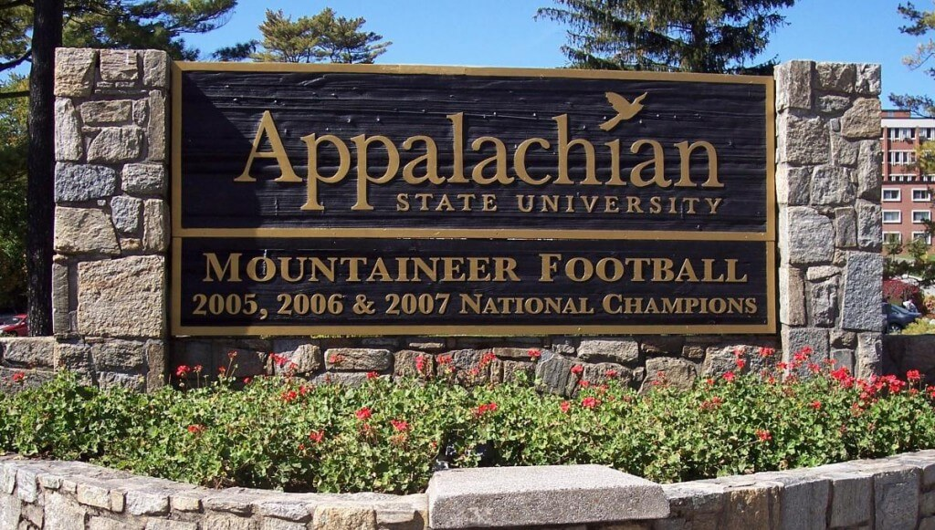 Appalachian State University - Best MSW in East 2016