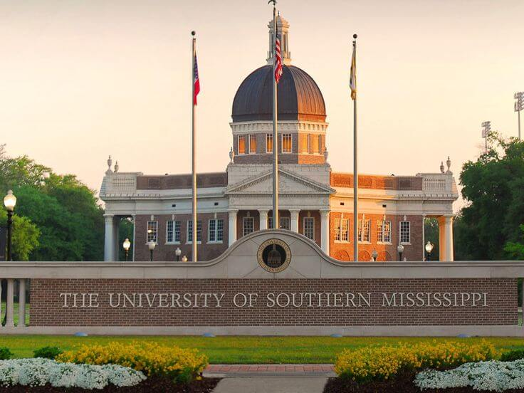 University of Southern Mississippi - Best MSW in East 2016